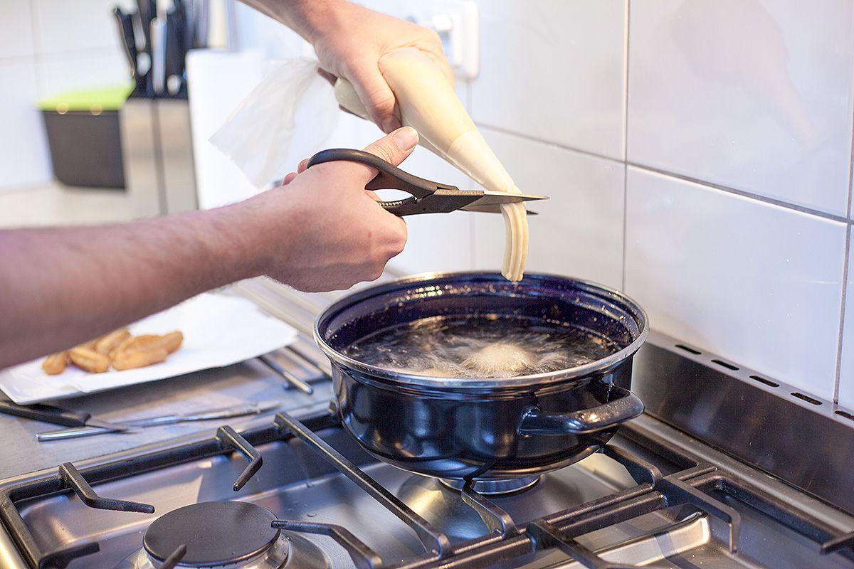 cara membuat churros