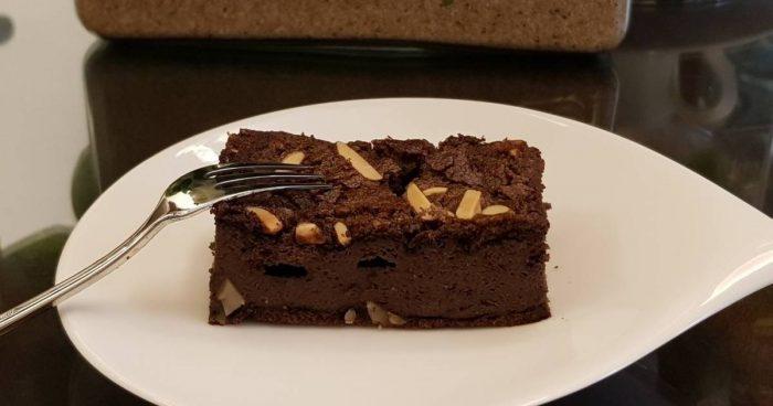 resep kue brownies kacang almond