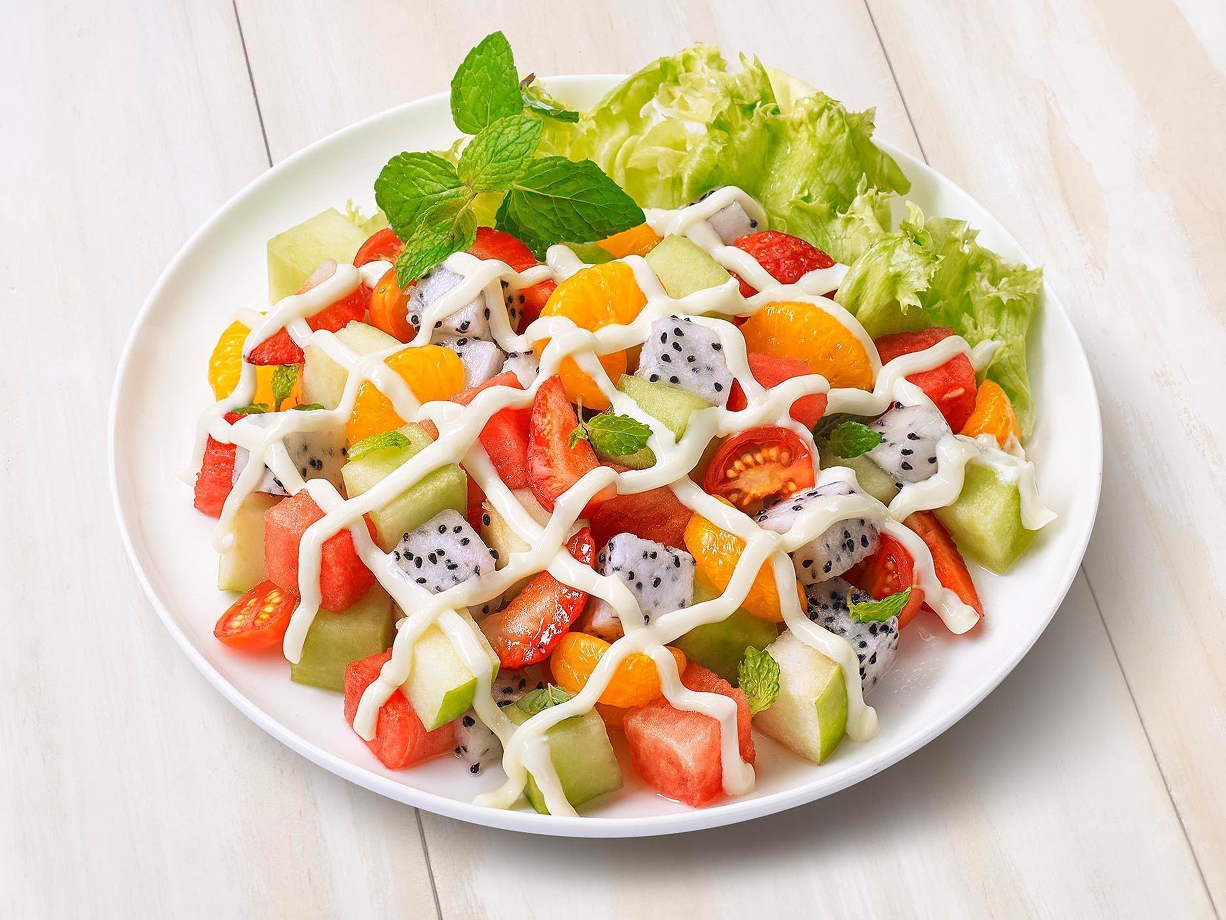 cara buat salad buah